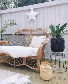 Outdoor Lounge, Outdoor Decor, Hygge Home, Room Planning, Color Inspiration, Boho Decor, House Plans, Outdoor Furniture, Chair