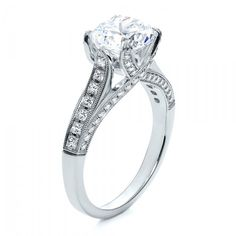 Engagement Rings-Princess Cut Diamond Engagement Ring