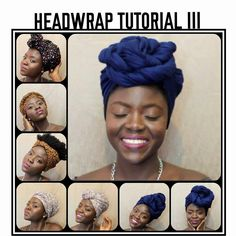 HEADWRAP TUTORIAL III- 8 STYLES