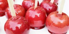 Candy Apples | Holiday Cottage