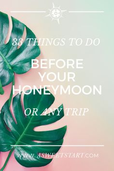 Here are 33 things to do before leaving on your honeymoon. Bookmark this page and keep it handy for your honeymoon or next trip. #travel #honeymoon #honeymoontips #traveltips Unique Wedding Vows, Personal Wedding Vows, Wedding Dj, Wedding Advice, Wedding Couples, Wedding Venues, Wedding Ideas, Honeymoon Spots, Romantic Honeymoon