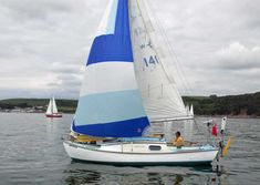 'Belgean', a Westerly 22, designed by Denis Rayner and built in the UK by Westerly Yachts Ltd