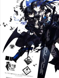 Black Rock Shooter Beast and Dead Master