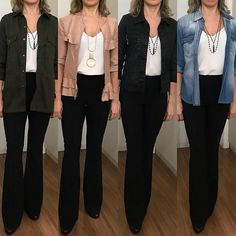 Womens Business Fashion Tips 54 Ideas Work Fashion, Fashion Pants, Fashion Outfits, Fashion Tips, Simple Outfits, Chic Outfits, Estilo Hippy, Work Looks, Look Chic