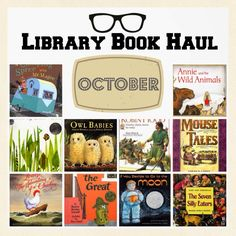 Library Book Haul - Good Reads for Kids You Should Definitely Check-Out! | 4tunate.net