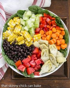 Vegetable Salad Recipes for Summer is One Of Beloved Salad Recipes Of Several People Round the World. Besides Easy to Produce and Excellent Taste, This Vegetable Salad Recipes for Summer Also Health Indeed. Vegetable Salad Recipes, Salad Recipes For Dinner, Salad Dressing Recipes, Veggie Dishes, Healthy Chef, Healthy Recipes, Slaw Recipes, Stay Healthy, Party Salads