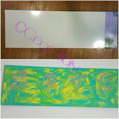 Wall art by Cece #diy #artsy #art #artwork #madebyme #cecemoise #silianisemoise #annamichelleboutique #annamichelle #love #canvasart #canvaspainting #canvas