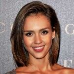 Jessica alba long bob haircut
