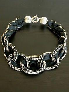 zipper bracelett