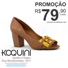 Começando a semana em alta. #koquini #sapatilhas #euquero #peeptoe Veja mais: http://koqu.in/18rkxTi