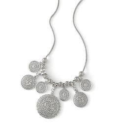 Crochet Necklace by lia sophia.