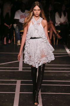 Givenchy womenswear, spring/summer 2015, Paris Fashion Week