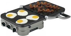 Cuisinart Griddler Review| Reviews By Rachel - I love how it converts from a grill to a griddle.