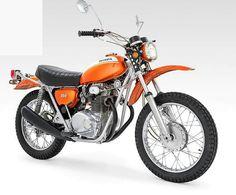 Vintage Honda XL250 MotoSport K0 K1 1972 1973 1974 Full Plastics XL 250 K.