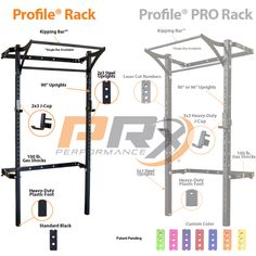 Transform your garage with the Women's Profile® Home Gym Package. Everything you need surrounds the patent pending Profile® Series Rack with Kipping Bar™. Finan