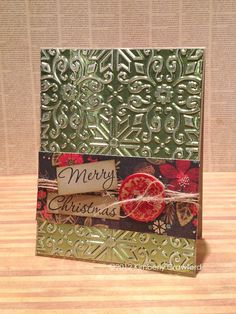 Christmas card by Kimberly Crawford