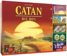 De Kolonisten van Catan Big Box.