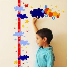 steam1 : Dekorjinal Decorative Wall Sticker Ruler Growth Chart DBY06 price, review and buy in Egypt, Amman, Zarqa | Souq.com