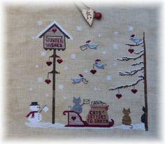 Winter break-- Christmas Village