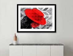 Discover «Flamenco girl», Numbered Edition Fine Art Print by Nannie van der Wal…