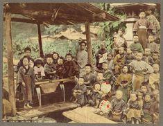 Country Children by Kusakabe Kimbei