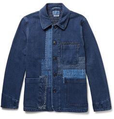 Blue Blue Japan, Woven Cotton Jacket. Japan... - The Denim Foundry
