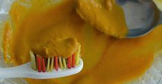 How to Whiten Your Teeth Naturally at Home with Turmeric - Turmeric powder is often used for skin whitening, and can be used to whiten teeth as well. Ingredients: 4 tablespoons of organic turmeric root powder 2 tablespoons of baking soda 2.5 tablespoons of organic coconut oil Instructions: 1. Add dry ingredients to a small bowl. Mix well. 2. Add coconut. Use a fork to mash …