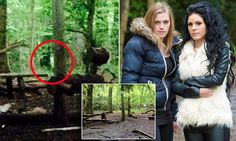 Terrified campers fled woods after capturing a 'ghost' in photo