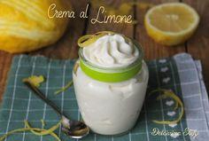 Crema al Limone,ricetta senza uova
