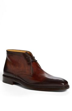 "Magnanni 'Cid' Chukka Boot | Great ""go to"" shoe for many different looks. Wears well with casual and business."