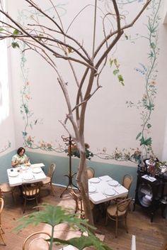 Restaurante Rosetta en la colonia Roma, love that place!