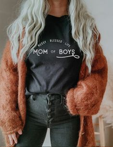 Band Shirts, Tee Shirts, Mustard Shirt, Moon Shirt, Heather Black, Retro Fashion, Shirt Style, Colorful Shirts, Shirt Designs