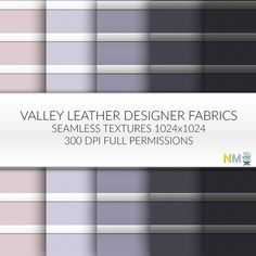 Valley Full Perm Leather Design Textures Seamless nessmarket