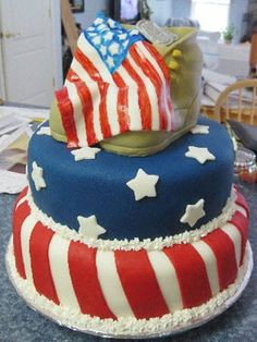 Fourth of July Silly Cakes
