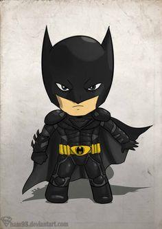 Little Dark Knight by *shamserg on deviantART