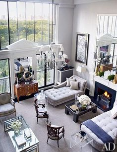 This light-filled Manhattan living room was one of our most pinned images last month. http://archdg.st/1AjWmpj