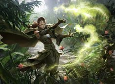 Natural Connection - Battle for Zendikar MtG Art