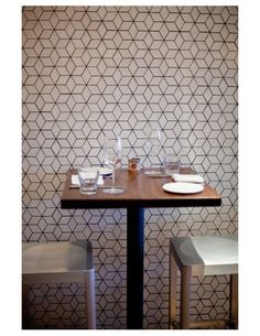 Locanda is the newest project from the creators of Delfina and Pizzeria Delfina and has this amazing tiled wall!
