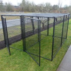 Doggie stuff on pinterest dog kennels outdoor dog for Costco dog fence