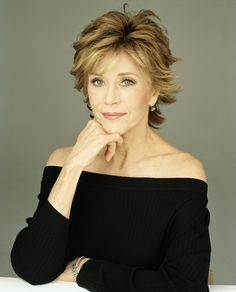 Jane Fonda - beautiful, energetic, inspiring, honest, and wise....I want to be like her when I grow up!