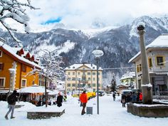 32 places everyone should visit in France - Explore the charming ski-resort village of Chamonix Mont Blanc.