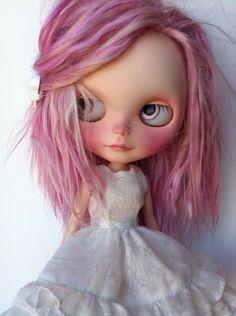 OOAK custom Blythe doll by Sharon Avital  by StrangeFruitShop, Etsy