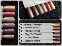 Sensationail Colors, Gel Nails, Nail Polish, Sculptured Nails, Gel Color, Taupe, Deserts, Bubbles, Eyeshadow