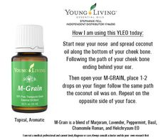 M-Grain Young Living Essential Oil - Independent Distributor 1746280 - Stephanie Fell - Get started with YLEO today - For Information on how to get your YLEO Premium Starter Kit: http://www.facebook.com/OilyGoodnessYLEO #OilyGoodnessYLEO