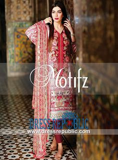 Pakistani Lawn Collection 2014 for Eid by Motifz  Buy Online Pakistani Lawn Collection 2014 for Eid by Motifz in United States. We Deal in Complete Sets at Discounted Wholesale Prices for Fabric Shops and Resellers. by www.dressrepublic.com