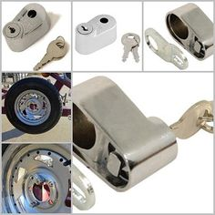 "Pengaman Kunci Ban Cadangan Lug Nut Spare Tire Carrier Locks Master Lock America U.S. -Rp 97.900  Lug Nut Spare Tire Carrier Lock MasterLock - Spare Tire Carrier Locks - 262DAT - BEST SELLER USA ORIGINAL !! Lock is used to secure spare tire to the spare tire carrier. Flat Key Design Fits over 1/2"" Diameter Stud Works great with u-bolt style, trailer spare tire carrier and on door mounted spare tires  Master Lock Chrome Lug Nut Style Spare Tire Lock is designed to provide advance security…"