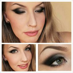 #black #cateye #makeup Products on my blog (link in profile:) - @stjima
