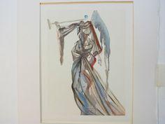 """De 1º de setembro a 27 de outubro, 100 gravuras do pintor surrealista Salvador Dalí (1904-1989) inspiradas na """"Divina Comédia"""", do italiano Dante Alighieri, ficam em exposição."""