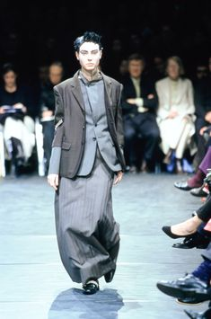 Female fashion with nice male touch