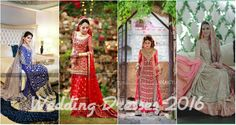 Special Wedding Dresses Collection for Pakistani Bride